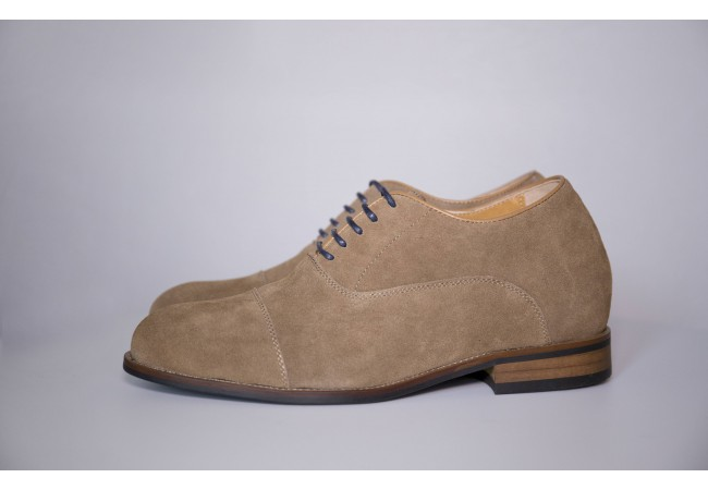 Premium suede Elevator shoes -8cm Taller invisibly