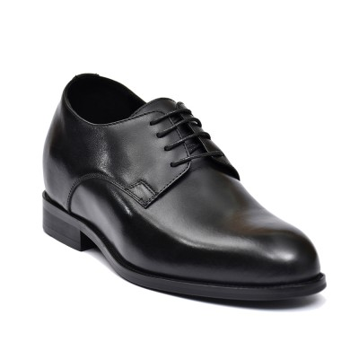 Classic premium leather elevator shoes