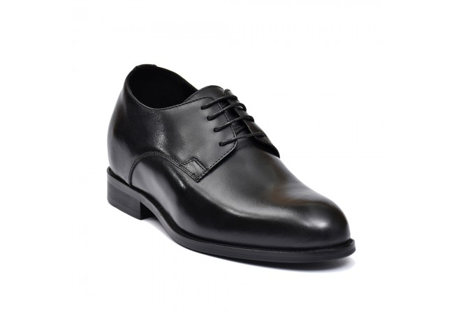 Classic premium leather elevator shoes