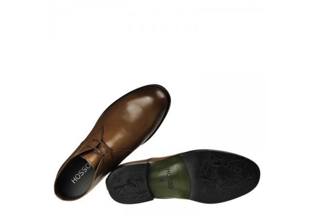 Casual Premium leather Coffee color Elevator shoes -8cm Taller invisibly