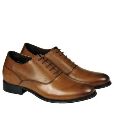 Prestige leather brogues 8cm Taller