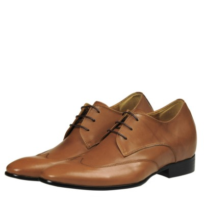 Prestige leather elevator shoes 8cm Taller