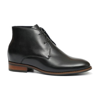 Black Derby Boots