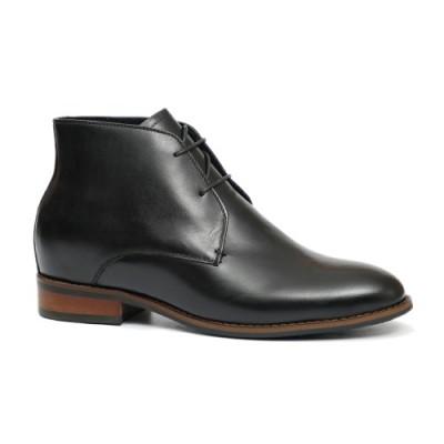 Black Derby Boots